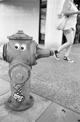 Fire Hydrant (justinjordanphoto) Tags: street film hydrant canon fire photography ae1 400 program hp5 manual ilford streetstyle