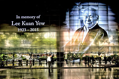 Remembering Lee Kuan Yew (1923 - 2015) (chooyutshing) Tags: inmemory singapore tribute sunteccity formerprimeministerofsingapore 19232015 rememberingmrleekuanyew