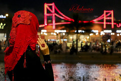 Hijab (hisalman) Tags: dubai hijab globalvillage canon70d