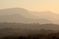 Pastel mountains (Cumberland Patriot) Tags: park trees sunset sun mountain lake mountains tree river head district lakes down jour national valley cumbria fells borough range fell cumberland contrejour greta clough contre cumbrian allerdale