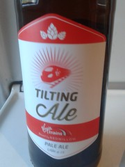 Virginale? Rail Ale? Pendolinale? @redwillowbrew (dullhunk) Tags: beer ale rail virgin realale virgintrains pendolino rale redwillow virginale tiltingale