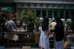 Umbrella Revolution #830 () Tags: road street leica ltm city people publicspace umbrella hongkong freedom democracy movement day path candid voigtlander 28mm protest rangefinder stranger demonstration revolution kowloon mongkok socialevent m9 l39 nofinder f19 m39 occupy offfinder umbrellarevolution voigtlander28mmf19 leicam9 occupycentral    umbreallarevolution
