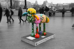 'Petal' Shaun the Sheep (ec1jack) Tags: uk england london march spring europe britain petal more trail cityoflondon nickpark 2015 shaunthesheep kierankelly ec1jack canoneos600d shaunthesheeptrail