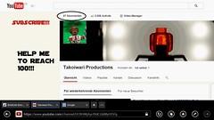 help me to reach 100!!! (Takoiwari Productions) Tags: lego youtube