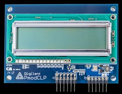 PmodCLP: Character LCD with Parallel Interface (Digilent, Inc.) Tags: hardware student display character interface samsung screen read data write professor lcd electronic maker controller parallel ascii module hobbyist clp predefined digilent pmod pmodclp