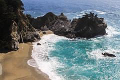 Pfeiffer State Park (Ioannes Artorius) Tags: ocean california park flowers beach nature sand rocks state bigsur 101 highway1 beaches highway101 pfeiffer saltwater pfeifferstatepark ca1
