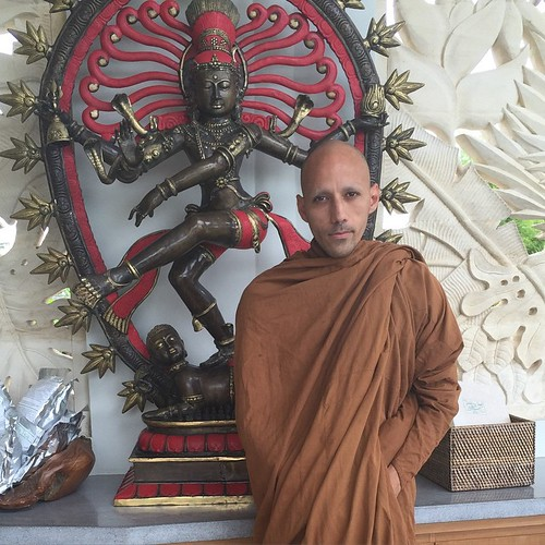 It's been enlightening to have Bhante Darma staying with us these past few days. Bhante will be teaching meditation classes during our Journey to Hilistic well-being retreats
