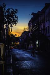 Sunset at Downtown (Krynowek Eine) Tags: sunset méxico de mexico atardecer noche downtown ciudad citys distritofederal