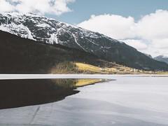 Kattara (aridleyphotography.com) Tags: lake ice norway digital landscape outdoors norge frozen europe roadtrip olympus dslr scandinavia ontheroad hordaland northerneurope vsco olympusuk vscofilm olympusomd olympusomdem10