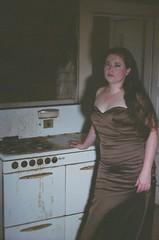 Domestic Bliss (Paul L. Nettles) Tags: house film dark model moody creepy haunting atmospheric appliances filmphotography zenite helios44m7