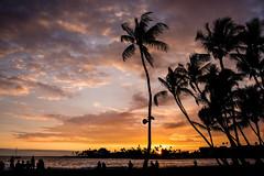 Sunset at Kona Coast (Tobias Kroeger) Tags: ocean usa holiday america lost island hawaii honeymoon pacific oahu urlaub insel bigisland amerika pazifik flitterwochen