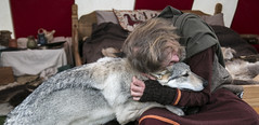 Friendship (MonMariLT) Tags: dog wolf friendship viking
