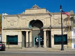 Terminal Arcade, Terre Haute, IN (Robby Virus) Tags: building station architecture facade train arcade arts indiana terminal interurban terra cotta terrehaute beaux