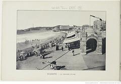 Fasc. 64, f. 15. Biarritz, la grande place (Library ABB 2013) Tags: france album bnf franais biarritz nationallibraryoffrance bibliothquenationaledefrance 1890