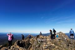 20160424-42-Crowded Hartz Peak (Roger T Wong) Tags: people trek outdoors nationalpark walk australia hike scree tasmania bushwalk tramp 2016 dolerite hartzpeak hartzmountainsnationalpark sony1635 rogertwong sel1635z sonya7ii sonyilce7m2 sonyalpha7ii sonyfe1635mmf4zaosscarlzeissvariotessart