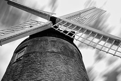 Great Haseley Windmill (NigelLee) Tags: blackandwhite windmill monochrome fuji great oxford fujifilm oxfordshire bnw longexposue haseley 10stop xt10 bigstopper