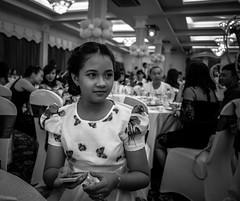 Waiting on the World (Hunh Anh Kit) Tags: leica party portrait bw lumix dof princess olympus summilux 15mm f17 em5markii kietbull