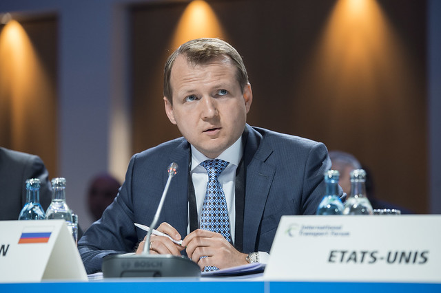 Nikolay Asaul at the Closed Ministerial Session