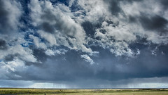 The rain in Spain stays mainly in the plain! (OR_U) Tags: rain weather clouds iceland spring widescreen may oru drama 169 plain hdr 2016
