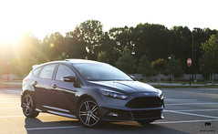 FoST (Roman Mose) Tags: sunset ford car st grey focus parking lot brakes fost gunmetal