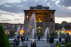 Shah Mosque 10 (Martin Tsvetkov) Tags: travel architecture photography lights iran perspective mosque wallpapers isfahan shah