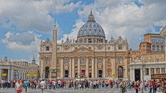 St. Peter's Basilica (paweesit) Tags: pope vatican rome church catholic christ basilica holy stpeterssquare pilgrimage apostles stpetersbasilica vaticancity papal apostle