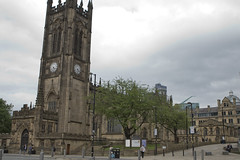 "2016 UK Trip: Manchester 14 (kuminiac) Tags: 2016 england manchester uk ""united kingdom"" cathedral architecture ""manchester cathedral"""