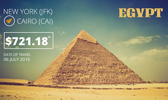 Today's one-way special deals for Cairo (CheapFlightsFrs) Tags: cairo specials deals