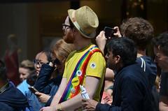 Man in the Hat (G Reeves) Tags: show life street city carnival people urban men london outside town rainbow nikon streetphotography pride parade event lgbt metropolis rainbowflag londonpride garyreeves nikond5100