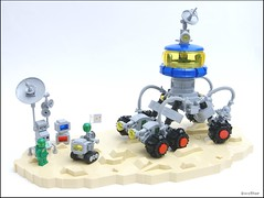Exploration ATV (SweStar) Tags: terrain classic all lego space vehicle neo exploration moc