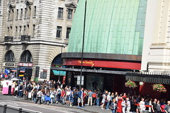 DSC_7474 London Bus Route #205 Marylebone Road Madame Tussauds wax works museum (photographer695) Tags: london bus route 205 euston road marylebone madame tussauds wax works museum