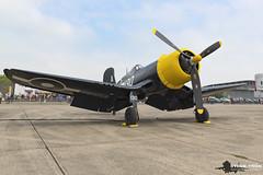 Goodyear FG-1D Corsair KD345 (Steve Tron) Tags: goodyear fg1d corsair kd345 duxford