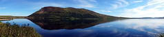 Loch Loyal (Stefan Jrgensen) Tags: panorama lochloyal loch loyal srnruadh beinnstumanadh mountain hill lake water reflection sky blue clouds sony a77 2016