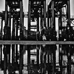Port of Helsinki | Vuosaari Harbour (Toni Kaarttinen) Tags: portofhelsinki vuosaari vuosaarensatama harbor harbour instagram instawalk finlndia finnland finnlando finlandia finlande finnorszg  finlndia finlanda  suomi finland scandinavia industrial architecture crane cranes forklift machinery reflection
