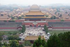 DSC03663 (JIMI_lin) Tags: 中國 china beijing 景山公園 故宮 紫禁城 天安門 天安門廣場
