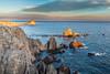Fotografiando Las Sirenas (chuscordeiro) Tags: parque sky españa costa color canon atardecer mar natural andalucia cielo turismo almeria cabodegata fotografo arrecife 1755 lassirenas canon7d