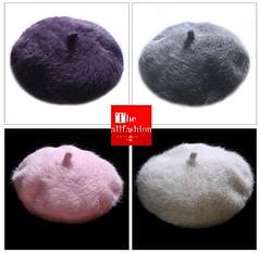 HF-0003 – หมวกแฟชั่นทรงไบเล่ผ้าขนวูลสีพื้นใส่ปิดหูกันหนาวได้สวยอบอุ่นอย่างมีสไตล์
