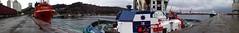Panoramica en el musel (ardisana10) Tags: barco vessel panoramic tugboat tug gijon fairplay elmusel alonsodechaves salvamentomaritimo farplayix