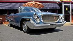 1962 Chrysler 300 (SchuminWeb) Tags: show new cruise blue classic cars car restaurant drive virginia ben web restaurants convertible drivein domestic va classics chrysler 300 dairy rite staunton wrights yorker cruisein dairyrite wrightsdairyrite schumin schuminweb