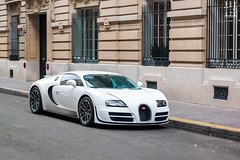 The best Veyron. (Nino - www.thelittlespotters.fr) Tags: white paris france car amazing royal bugatti supercar qatar veyron supersport monceau bugattiveyronsupersport