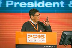2015-03-07 Ovide Mercredi elected president