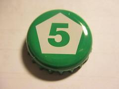Railway Porter - The Five Points Brewing Co. (kalscrowncaps) Tags: beer soft caps ale cider drinks crown bier soda pils lager