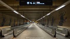 Cais do Sodr `Metro Station (AreKev) Tags: portugal station underground nikon downtown metro lisboa lisbon escalator sigma lomoish rapidtransit caisdosodr d7100 pombaline 1750mmf28exdcoshsm nikond7100