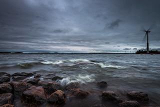 Windy day at Matinsaari