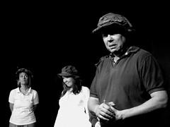 (Pickman's Paintbrush) Tags: blackandwhite bw spring rehearsal shakespeare acting drama 2015 whitecobra whitecobraproductions