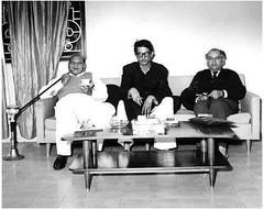 Faiz Ahmed Faiz, Sadqain & Faqeer Syed Wheed Uddin (Rashid Ashraf) Tags:
