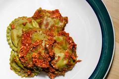 Ravioli (MorboKat) Tags: food cooking kitchen dinner cook pasta meal ravioli
