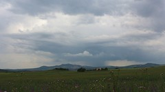 Tormenta en formacin (Jos Rambaud) Tags: storm primavera rain clouds spring lluvia andaluca nubes tormenta cloudscape nube
