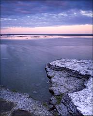 Fields of Neptune 4x5 - Velvia 50 (magnus.joensson) Tags: ocean sea water sunrise landscape island coast seaside fuji sweden outdoor large swedish 45 hasselblad velvia shore 4x5 linhof format f56 50 fujinon 125mm land x5 81b flextight neptuni technikardan krar