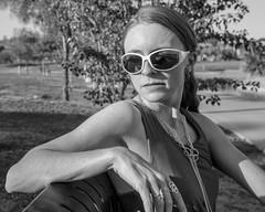 Park Bench (Laveen Photography (aka cyclist451)) Tags: arizona bw white black phoenix photography model friend photographer modeling az muse photograph lane leslie fountainhills douglaslsmith cyclist451 laveenphotography wwwlaveenphotographycom laneschwartz